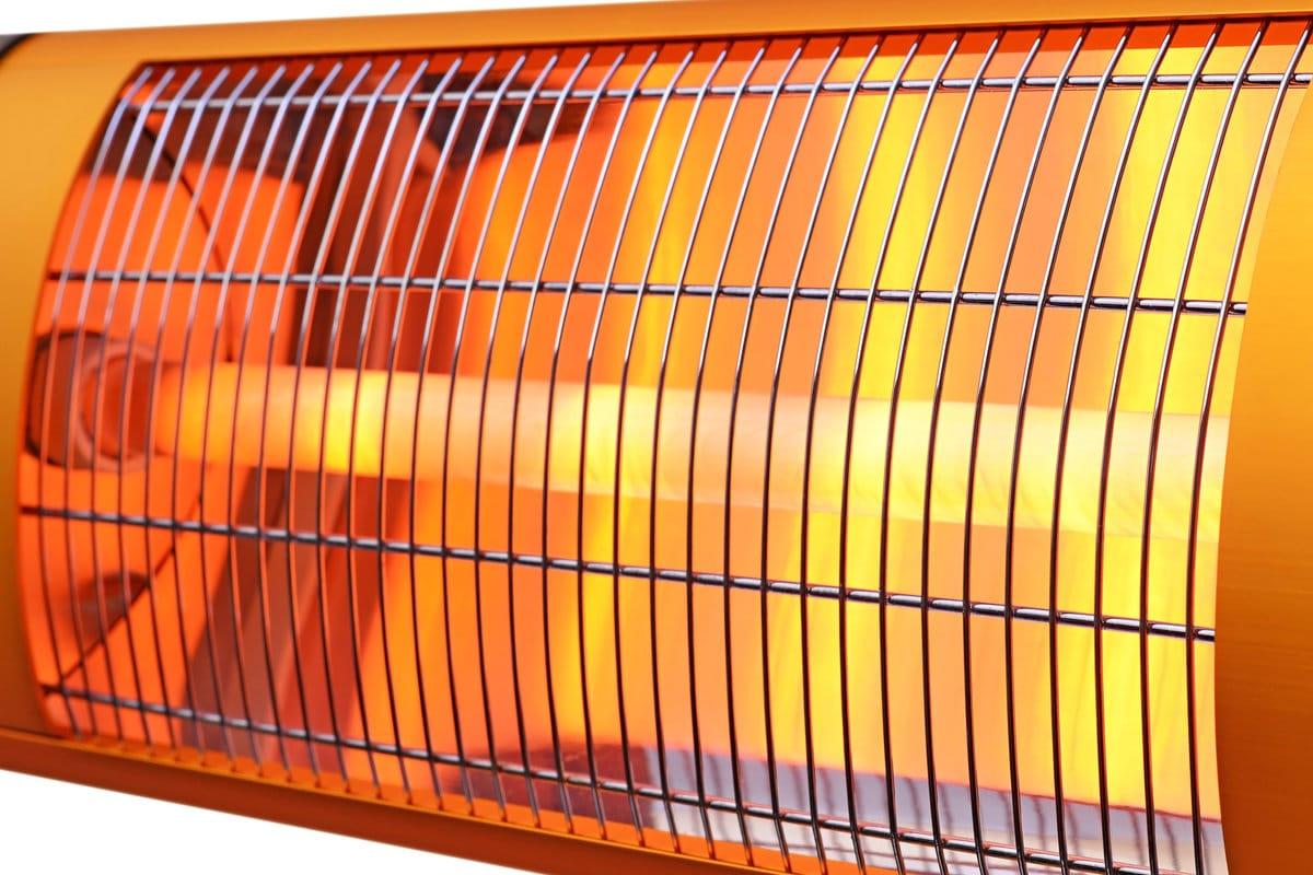 Chauffage de terrasse infrarouge