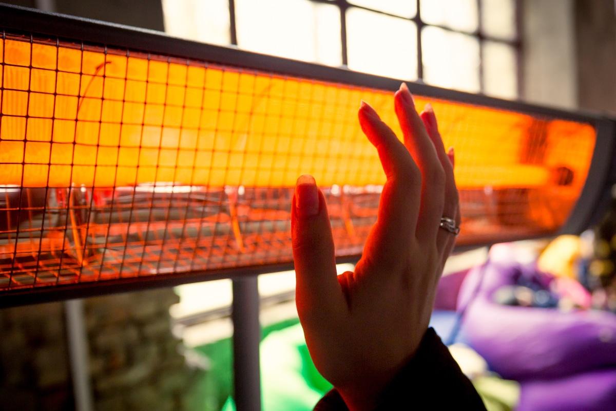 Chauffage de véranda infrarouge
