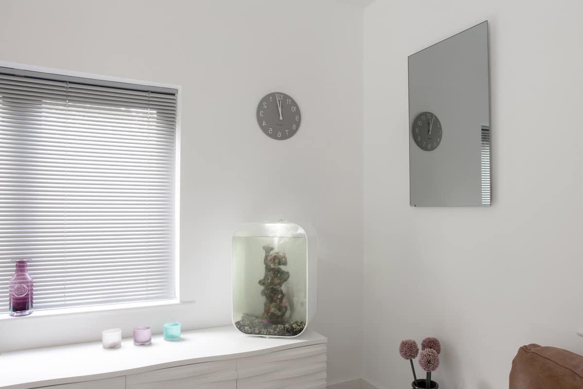chauffage infrarouge dans salle de bain