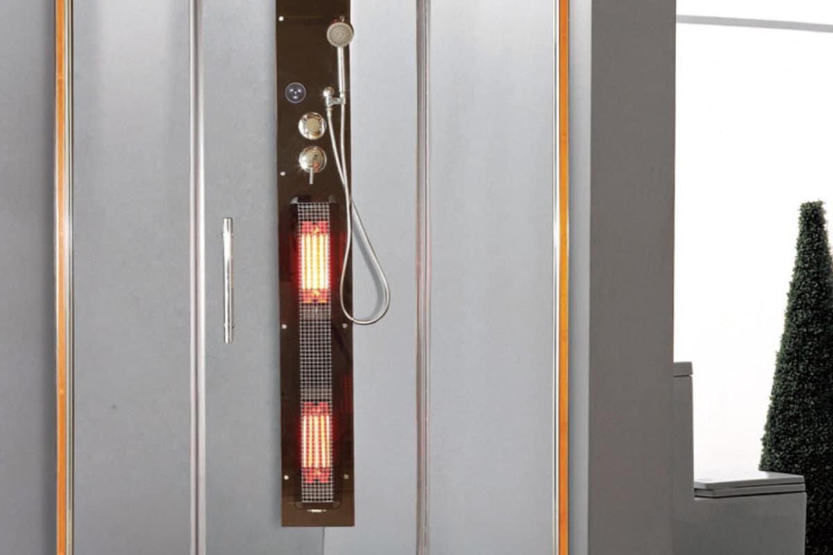 Douche infrarouge salle de bain