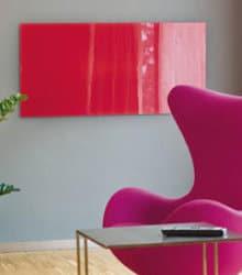 panneaux infrarouges design