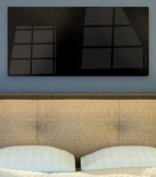 panneaux infrarouges verre