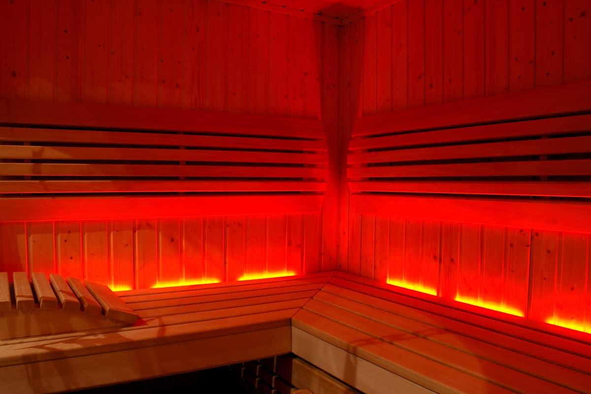 Rayonnement de chaleur cabine infrarouge